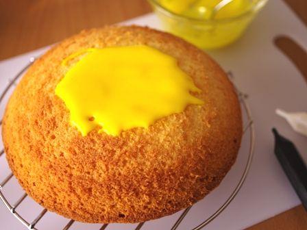 船橋市非公認キャラふなっしーのドームケーキ03