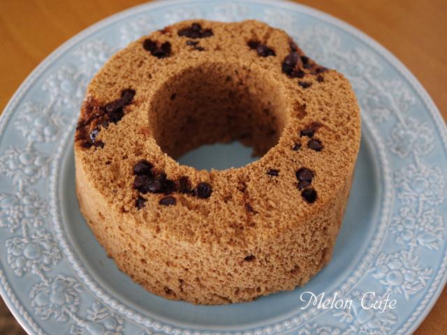 レンジで簡単ホットケーキミックスのココアシフォンケーキ