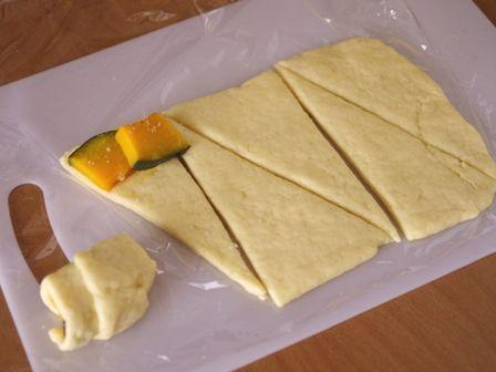 ホットケーキミックスで簡単ちょこっとおかずパン焼き芋とかぼちゃ01