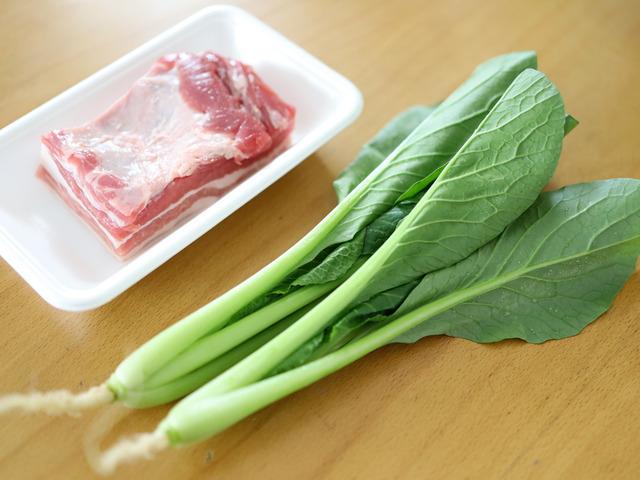時短簡単豚の角煮丼01