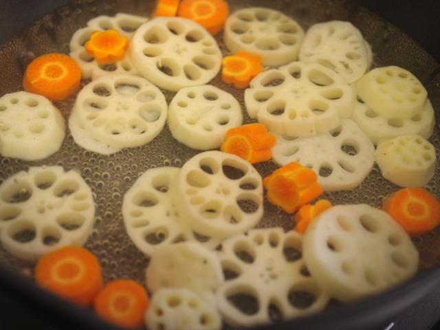 根菜とグリルチキンのごちそう炒め煮02