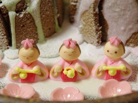 ひなまつりケーキj