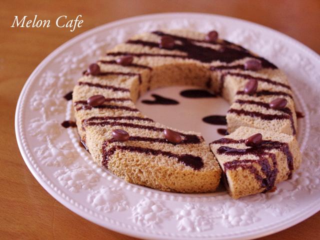 レンジで簡単カフェモカケーキ