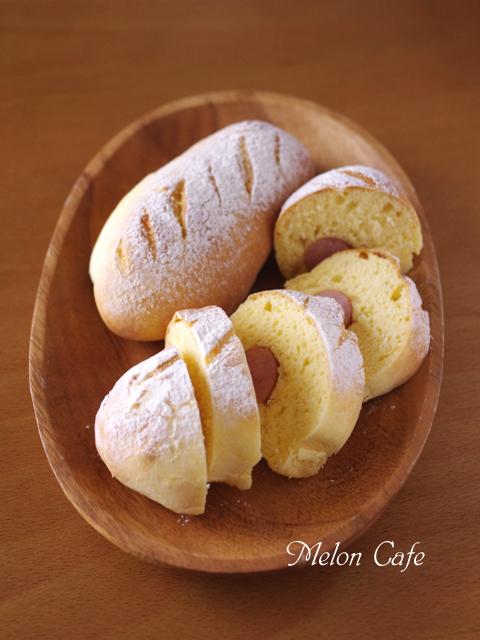 ホットケーキミックスで作るソーセージドッグパン
