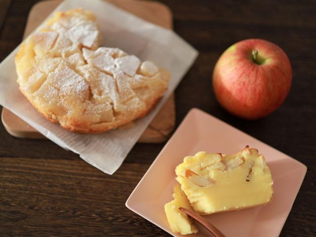 リンゴのケーキとファーブルトン202011