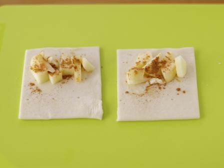 アップルパイどうしても食べたくて超簡単レシピ01