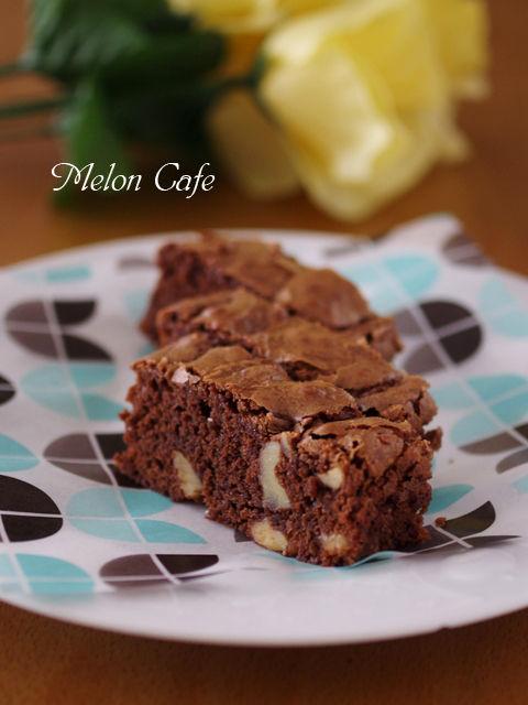 ホットケーキミックスで簡単チョコレートブラウニー02