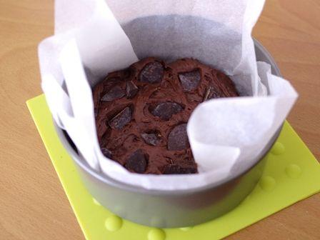 ズボラさんでもお洒落なクリスマスケーキ簡単手順のガトー・オ・ショコラチョコレートケーキ04