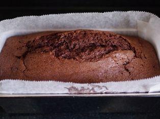 おたんじょうびのケーキ(チョコレートパウンド)08