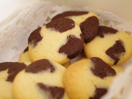 牛柄のモーモークッキー