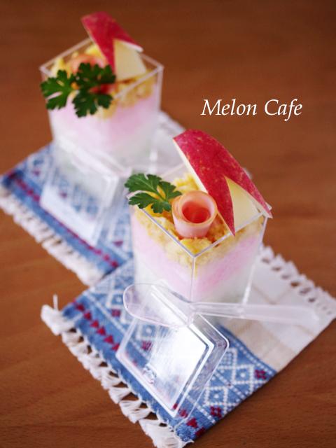 ひなまつりのカップ寿司はちみつ酢