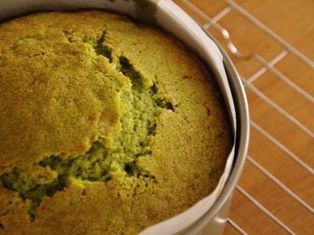 和風☆抹茶と塩麹のバターケーキ05