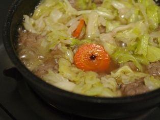 肉団子とキャベツのワイン煮05