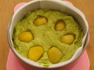 和風☆抹茶と塩麹のバターケーキ04