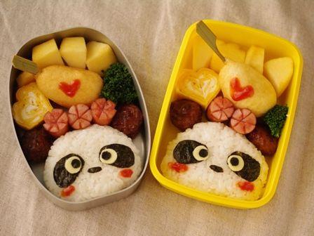 パンダの超簡単!弁当