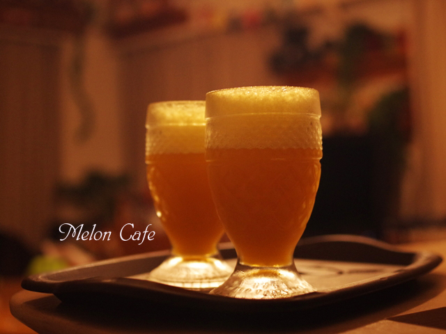 ビールみたいなオレンジゼリー