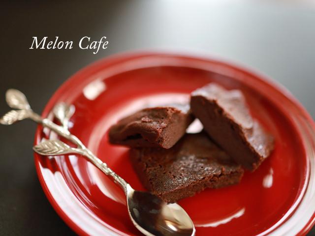 レコルトエアーオーブンで半生ガトーショコラ00