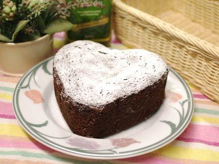 超簡単で本格チョコレートケーキ