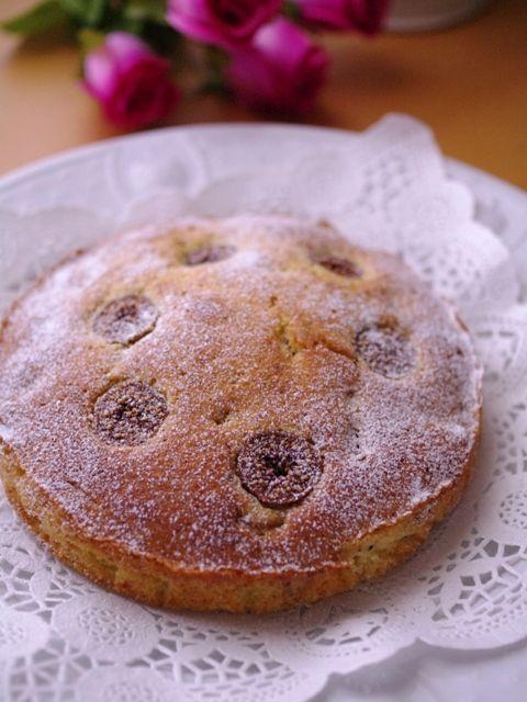 ドライフィグと紅茶リーフのフルーツブランデーケーキ(フルブラの焼き菓子)01