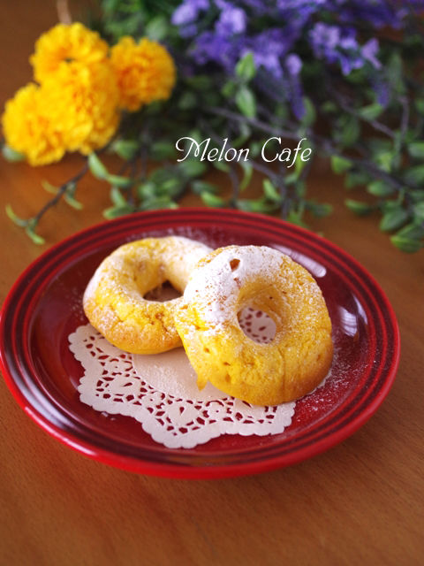 ホットケーキミックスで作るかぼちゃの焼きドーナツ03