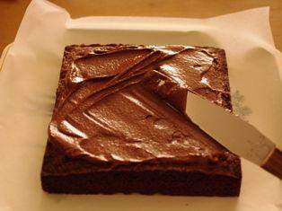 チョコレートガナッシュのクリスマスケーキ11