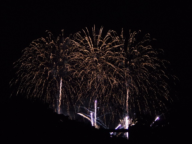 地元夏祭りの光景02