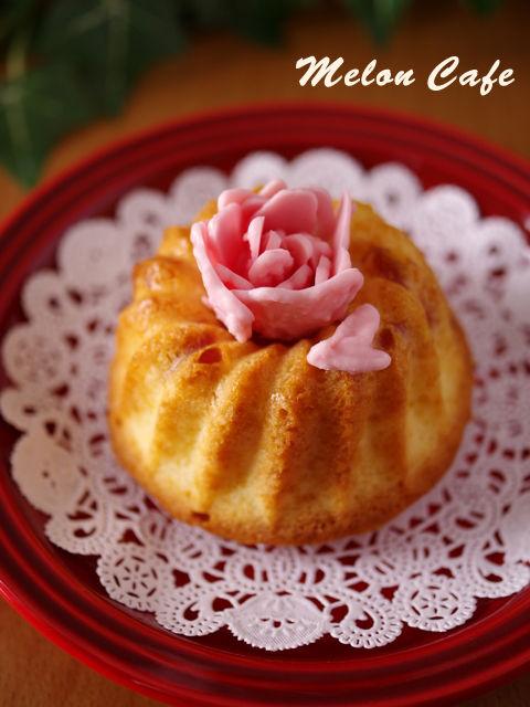 超簡単母の日のフルーツ花デコケーキ