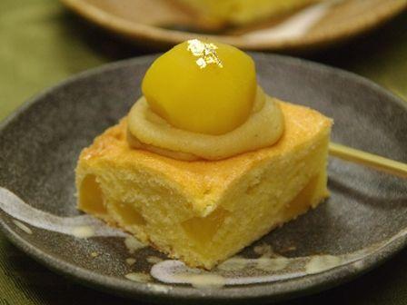 和栗のケーキ2