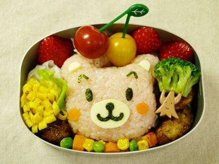 くまさん春のお弁当