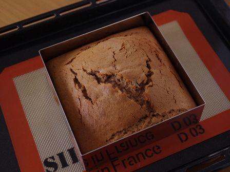 キャドバリーデイリーミルクフルーツアンドナッツでつくるゼブラ柄の簡単スクエアケーキ03