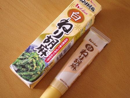 フライパンでつくる白ごま和菓子02