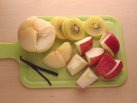 フルブラフルーツブランデー桃と林檎とゴールドキウイ02
