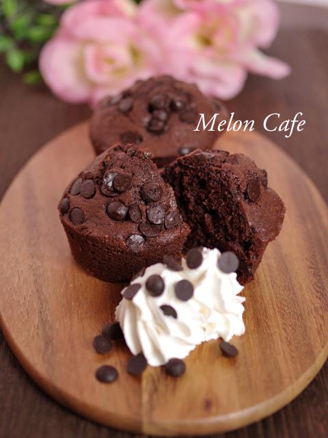 ホットケーキミックスで簡単ココアカップケーキ2種