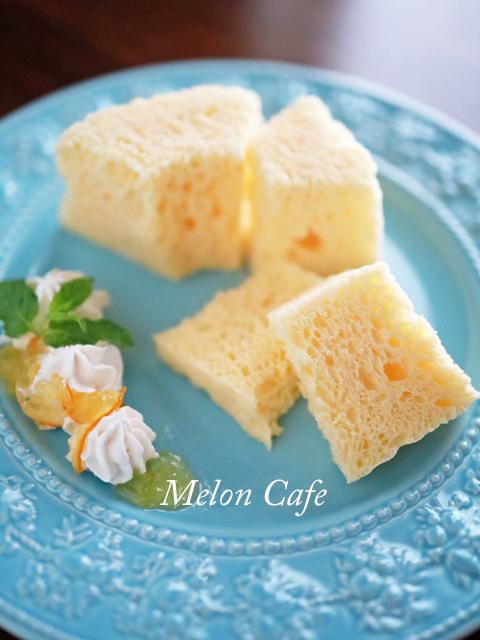 HMとレンジで簡単ふわふわシフォンケーキ