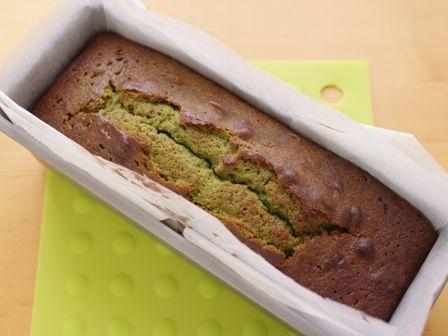 ホットケーキミックスでつくる栗抹茶パウンドケーキ簡単04