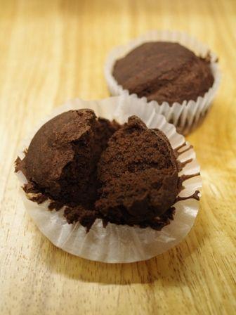 アレルギー対応のチョコレートケーキ小麦粉・牛乳・卵不使用01