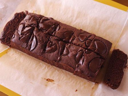 簡単にできるパウンドケーキ生地で贅沢チョコレートブラウニーバレンタインに08