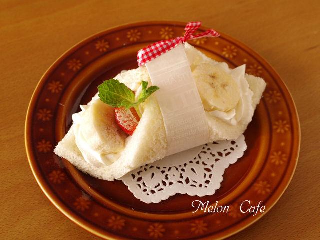 ショートケーキ風サンドシナイッチ
