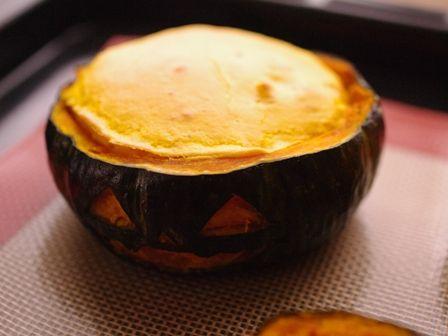 ハロウィンかぼちゃのまるごとクリームチーズケーキ10