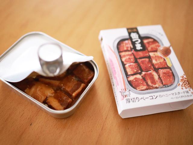 缶詰でキャンプ飯_缶つま_スープパスタ01