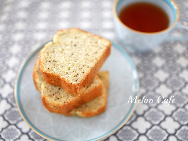 ホットケーキミックスパウンド紅茶