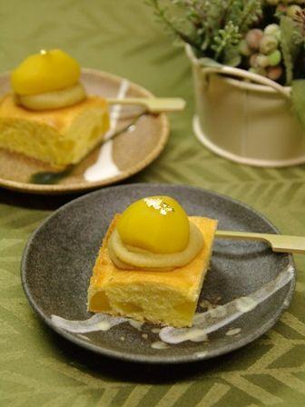 和栗のケーキ1