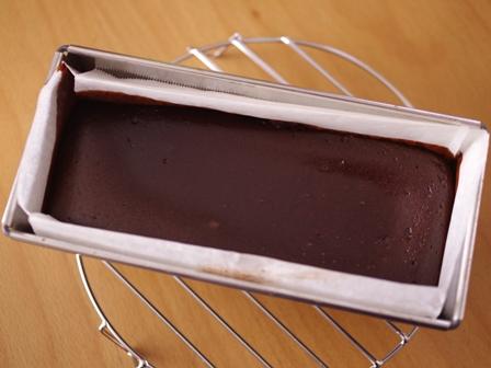 ヌテラと豆腐で簡単半生ガトーショコラ04