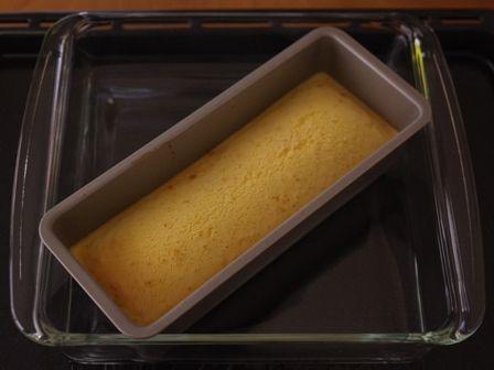ホットケーキミックスでつくる、ココナッツミルクのプリンケーキ05
