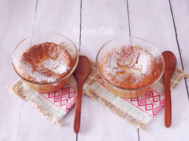 スフレ風ホワイトチョコレートケーキ