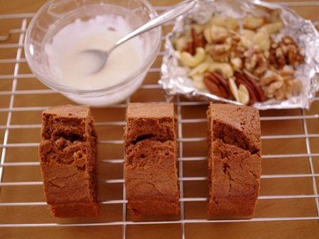 しゃりっと香ばしいチョコレートパウンド09