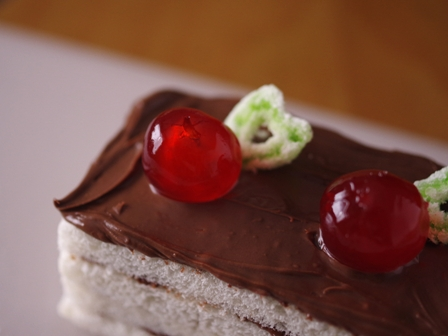 ヌテラで超簡単ケーキのようなサンドイッチ03