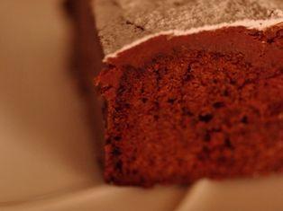チョコレートガナッシュのクリスマスケーキ00