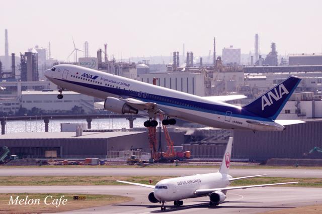 羽田空港にて撮影20170314