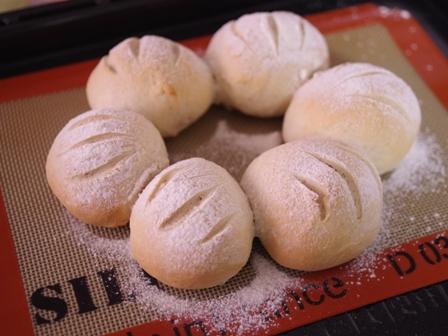マロンペーストで作る栗ちぎりパン08